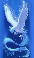 Shiny Articuno by EsstheMystic
