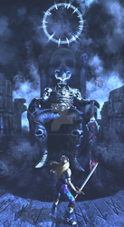End of Level Boss by 3D-Fantasy-Art