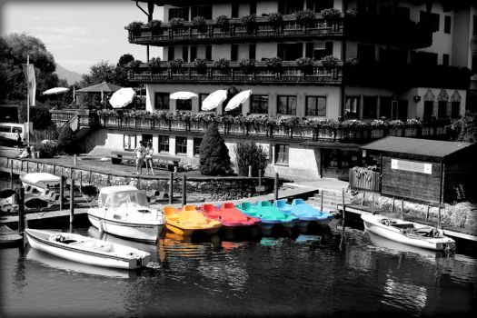 Boats by Penni2