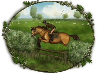 Harpley Hunt - Easter Meet by ElreniaGreenleaf