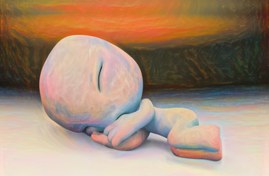 Zbrush Doodle: Day 1299 - The Snooze by UnexpectedToy