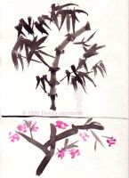 Old Work: Sumi-e by kalany