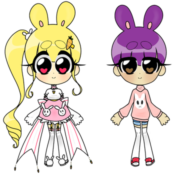 Easter Bunnies - {CLOSED} by witch-kun