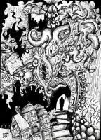 Lovecraft Tribute by inkarts