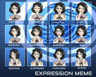 Many Faces of Emiko || -HRD- by Hornets-N-Tribes