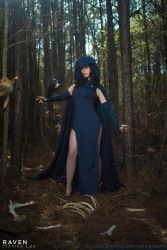 RAVEN from Teen Titans by Benny-Lee