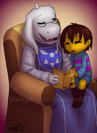 Mother Toriel by VickyViolet