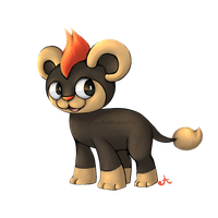 Litleo, the lion cub pokemon