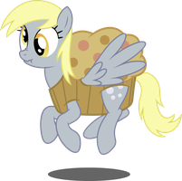 Muffin Derpy by TechRainbow