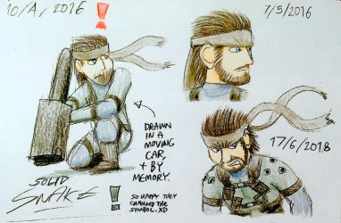 Solid Snake by C-Studios
