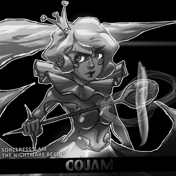 Sorceress Humanization | Sorceress' Lair cover by zcojam