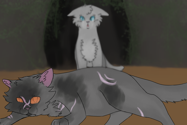 yellowfang's death by arRagdoll