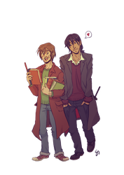 Remus and Sirius by Soyouz-Aldrin