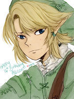 Twilight Princess Link for my frand Allisun by uzare