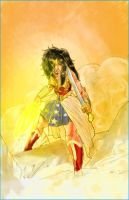 Wonder Woman by Mark-Clark-II