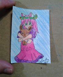 ACEO #74 anime series by ShelandryStudio