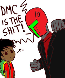DMC IS THE SHIT! by TheAmericanKaiser