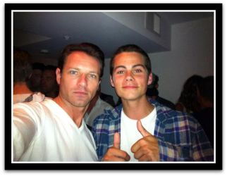 Ian Bohen and Dylan O'Brien by LightninBluEyes