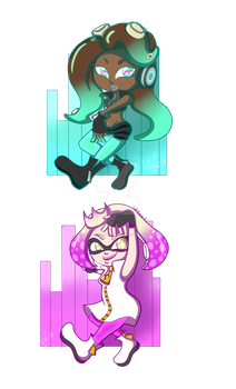 Marina and Pearl Charms! by LadyTsukino