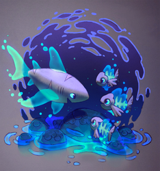 03 Ghost Friends by Astral-Requin