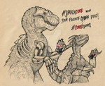 Thunder and Riptor - CokeESports-collab by LycanthropeHeart