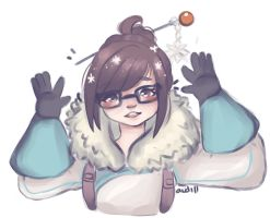 OverWatch : cutie pie mei by Audill