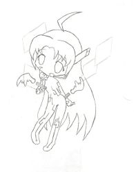 Cyber Angel Ai - Chibified by Ookami2000