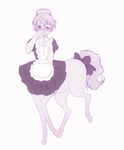 Centaur maid by zambicandy