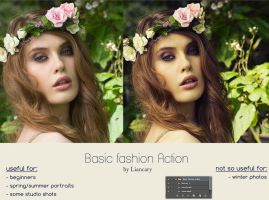 Basic Fashion Action - by Liancary by Liancary-art