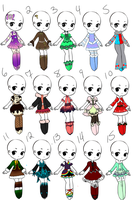 Outfit Adopts 23 *Closed* by Canaddicted