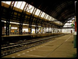 railway station by Eanee