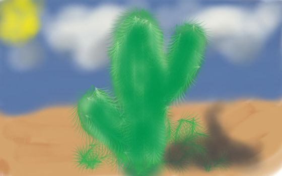 cactus  by scottsouza