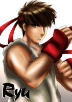 Ryu of Street Fighter by ExoroDesigns