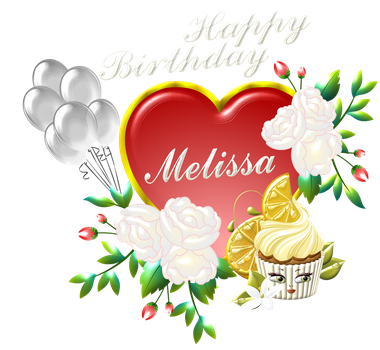 happy-birthday-Melissa by Creaciones-Jean