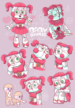 Baby Doodles by HINOKI-pastry