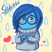 Sadness by CutieClovers