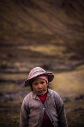 The Andes Girl by BrightRedFox