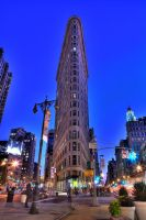 FlatIron Building NYC by sp1te