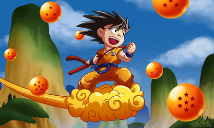 Dragon Ball by Sawuinhaff