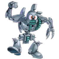 Toon Ancient Gear Golem png by Carlos123321