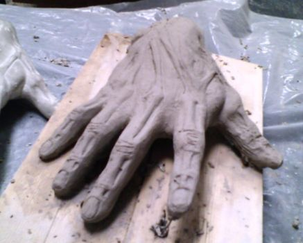 Hand Sculpture by odise81