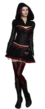 Gothic Girl by SuicideOmen