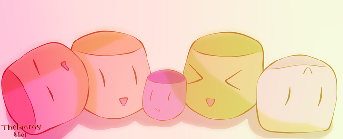Marshmallows~! by TheEmmy4501