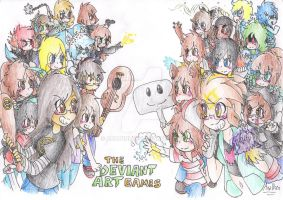 The DeviantArt Games--EVERYONE--GIGANTIC GIFT by AnaNini