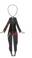 Outfit custom for vampirewitch2016 by SnarkyAdopts
