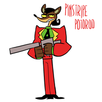 mlaatr?Style is pinstripe potoroo by EZstrongs