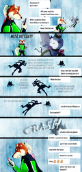 P-P: Don't text and magica by Derekari