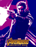 August Avengers #19.9 - Infinity War (2018) by JMK-Prime