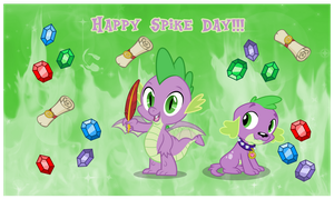 Spike Day by AndoAnimalia