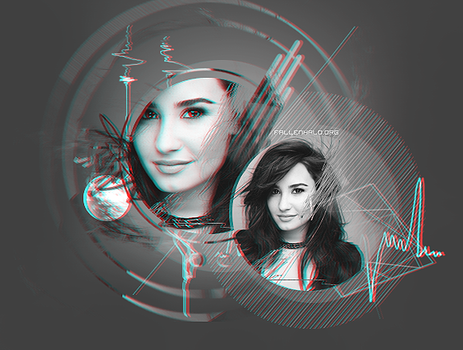 Demi Lovato Header by FallennHalo